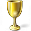 Goblet Gold Icon 64x64