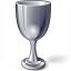 Goblet Silver Icon 64x64