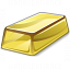 Gold Bar Icon 64x64