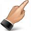 Hand Point 3 Icon 64x64