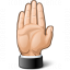 Hand Stop Icon 64x64