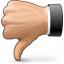 Hand Thumb Down Icon 64x64