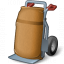 Hand Truck Bag Icon 64x64