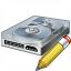 Hard Drive Edit Icon 64x64