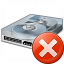 Hard Drive Error Icon 64x64