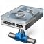 Hard Drive Network Icon 64x64