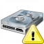 Hard Drive Warning Icon 64x64