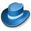 Hat Blue Icon 64x64