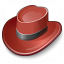 Hat Red Icon 64x64