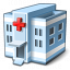 Hospital Icon 64x64