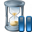 Hourglass Pause Icon 64x64