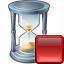 Hourglass Stop Icon 64x64