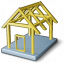 House Framework Icon 64x64