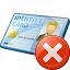 Id Card Error Icon 64x64