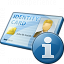 Id Card Information Icon 64x64
