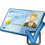 Id Card Preferences Icon 64x64