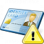 Id Card Warning Icon 64x64