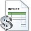 Invoice Dollar Icon 64x64