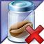 Jar Bean Enterprise Delete Icon 64x64