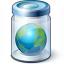 Jar Earth Icon 64x64