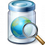 Jar Earth View Icon 64x64