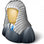 Judge Wig Icon 64x64