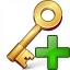 Key Add Icon 64x64
