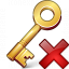 Key Delete Icon 64x64