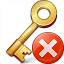 Key Error Icon 64x64