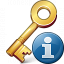 Key Information Icon 64x64