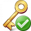 Key Ok Icon 64x64