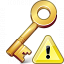 Key Warning Icon 64x64