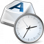 Keyboard Key Clock Icon 64x64