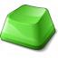 Keyboard Key Green Icon 64x64