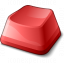 Keyboard Key Red Icon 64x64