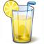 Lemonade Glass Icon 64x64