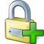 Lock Add Icon 64x64