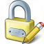 Lock Edit Icon 64x64