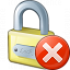 Lock Error Icon 64x64