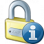 Lock Information Icon 64x64