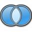 Logic Xor Icon 64x64