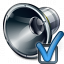 Loudspeaker Preferences Icon 64x64