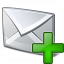 Mail Add Icon 64x64