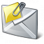 Mail Attachment Icon 64x64