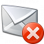 Mail Error Icon 64x64