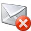 Mail Error Icon 64x64