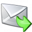 Mail Forward Icon 64x64