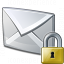 Mail Lock Icon 64x64