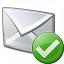 Mail Ok Icon 64x64