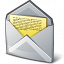 Mail Open Icon 64x64